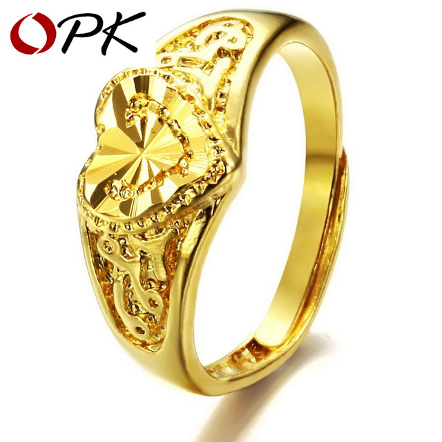 OPK JEWELRY Top Quality wedding ring Luxury Gold Color Cheap Ring