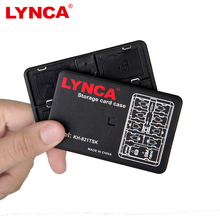 Memory Card Carrying Storage Box Memory Card Case Storage Holder LYNCA Bank Card Size Holder for