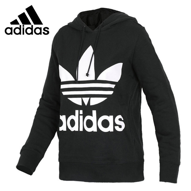 82c9b7211aca Original New Arrival 2018 Adidas Originals TREFOIL HOODIE Women s Pullover  Hoodies Sportswear
