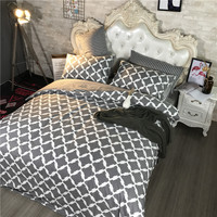 100 Pure Cotton 4 PCS Bedding Set Neutral Style Duvet Cover Bedding Flat Sheet Modern Trypophobia