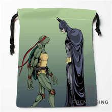 Custom Ninja Turtles Drawstring Bags Printing Fashion Travel Storage Mini Pouch Swim Hiking Toy Bag Size 18x22cm #171203@1-08