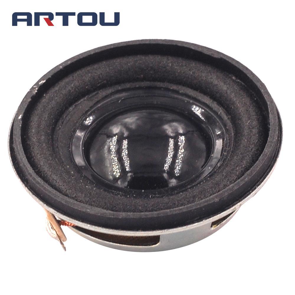 High Quality Speaker Horn 3W 4R Diameter 4CM Mini Amplifier Rubber Gasket Loudspeaker Trumpet