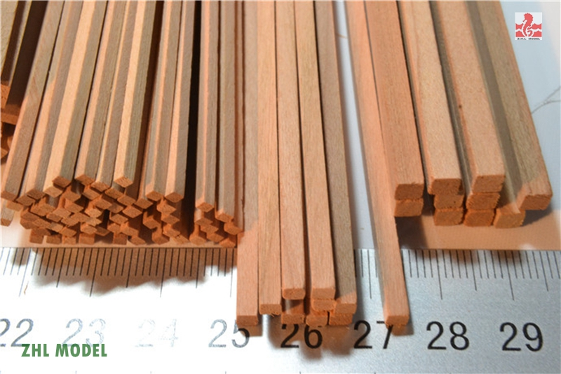 ZHL Cherry Wood Strips 2pieces Model Ship
