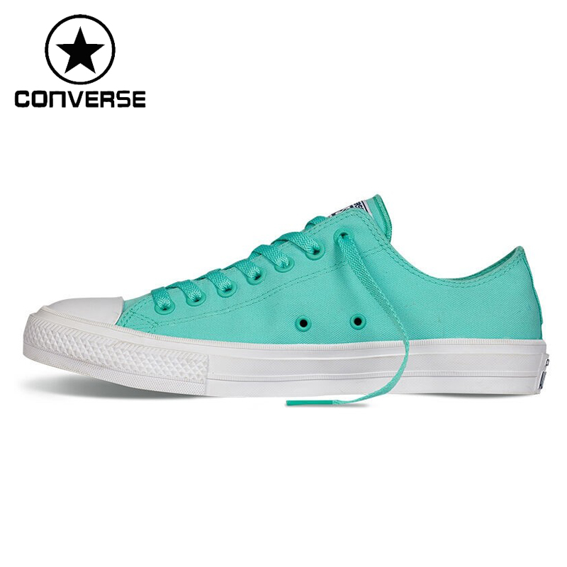 Original Converse Chuck Taylor ll  Unisex Skateboarding Shoes Canvas  Sneakers taylor cole relogio tc013