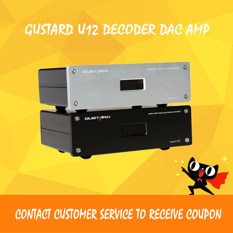 GUSTARD U12 усилитель аудио usb ЦАП xmos декодер аудио цифровой hi fi усилители мощности