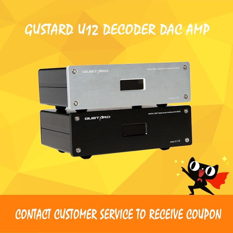 GUSTARD U12 amplifier audio usb dac xmos decoder audio digital hi fi power amplifiers xmos