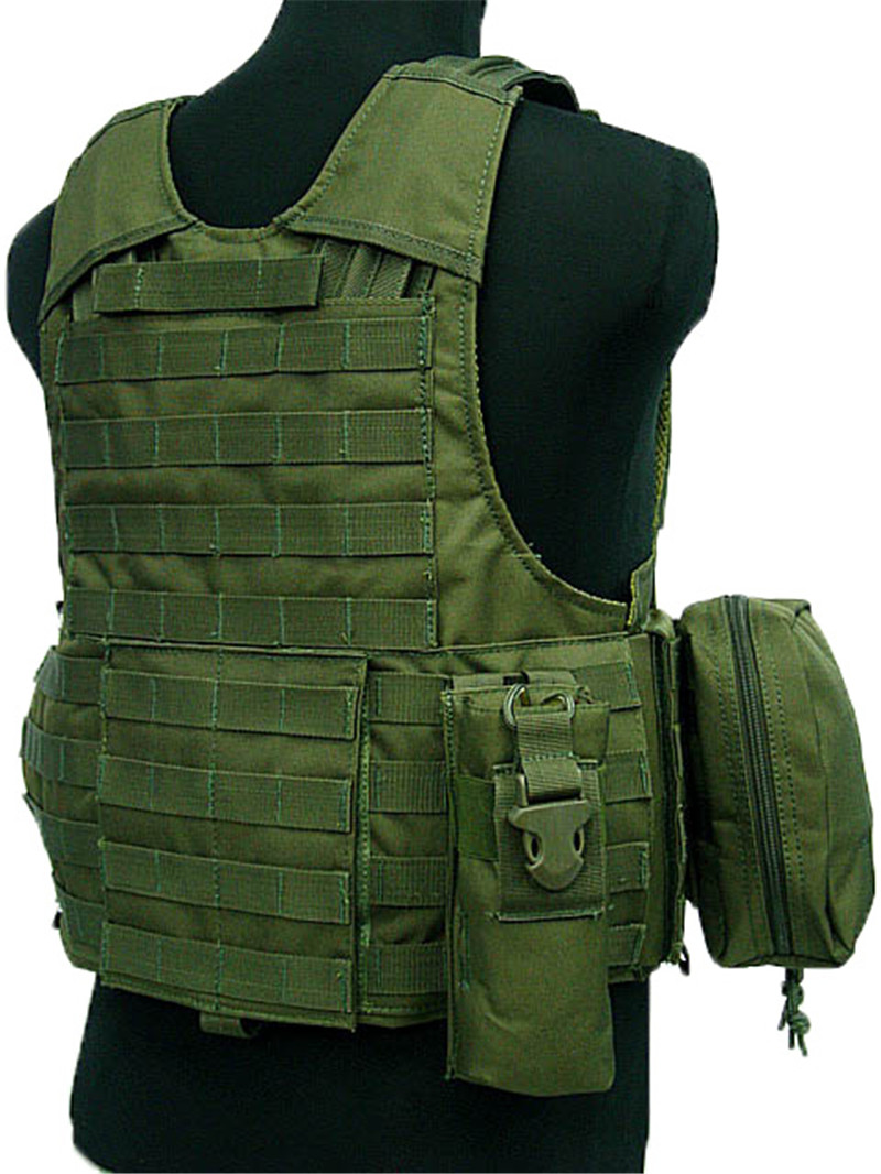 Image 2 - Tactical Vest Molle CIRAS Airsoft Combat Vest W/Magazine Pouch Releasable Armor Plate Carrier Strike Vests Hunting Clothes Gear-in Hunting Vests from Sports & Entertainment
