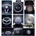 Diamante austríaco diamantes pegados a los coches del coche rhinestone pegado emblema etiqueta engomada del coche decoración bricolaje taladro de cristal etiqueta engomada del coche