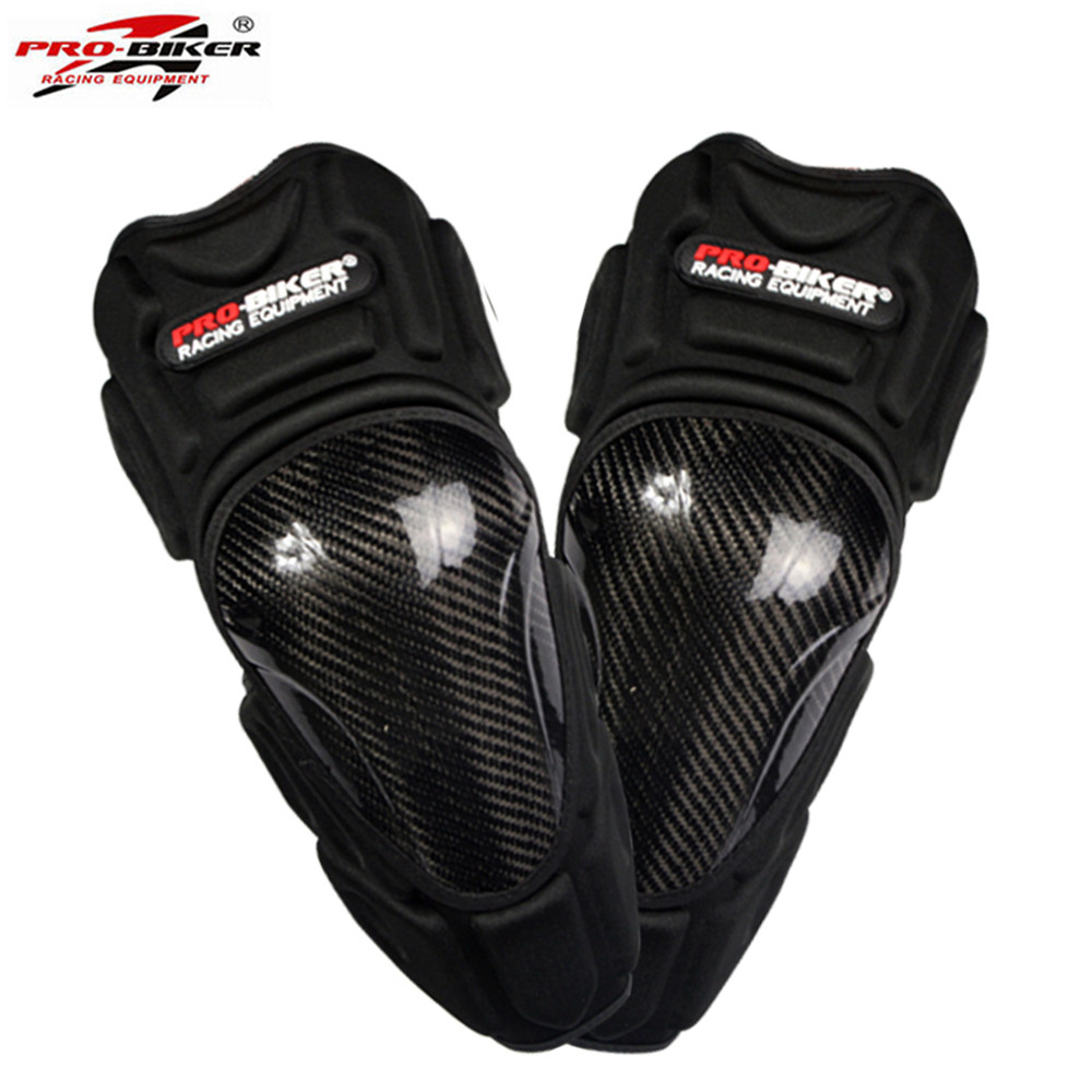 Professional Carbon Fiber Motorcycle Racing Off-Road Knee Pads Protective Guard