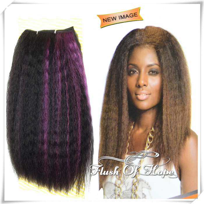 New Noble Gold Natural Black Afro Bohemian Coco Curl Ombre