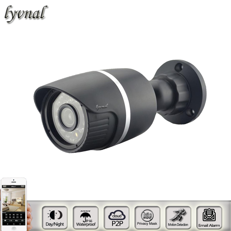Surveillance Camera 1080P Bullet  IP camera HT-9313 Outdoor waterproof night vison P2P ONVIF bullet camera tube camera headset holder with varied size in diameter