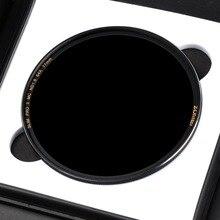 Zomei оптический Стекло тонкий набор УФ-фильтров с нейтральной плотностью Камера фильтр ND для камеры ND8/ND64/ND1000 (3,0) многослойный УФ-фильтр 49/52/55/58/62/67/72/77/82 мм