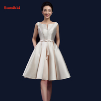 2015 New Design A Line Short Dresses V Opening Back Cocktail Party Evening Lace Up Dress