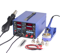 YIHUA 853D 2A Solder Rework Station With 5V USB DC Power Supply Hot Air Gun Soldering Iron Rework Station For Desoldering Repair [category]
