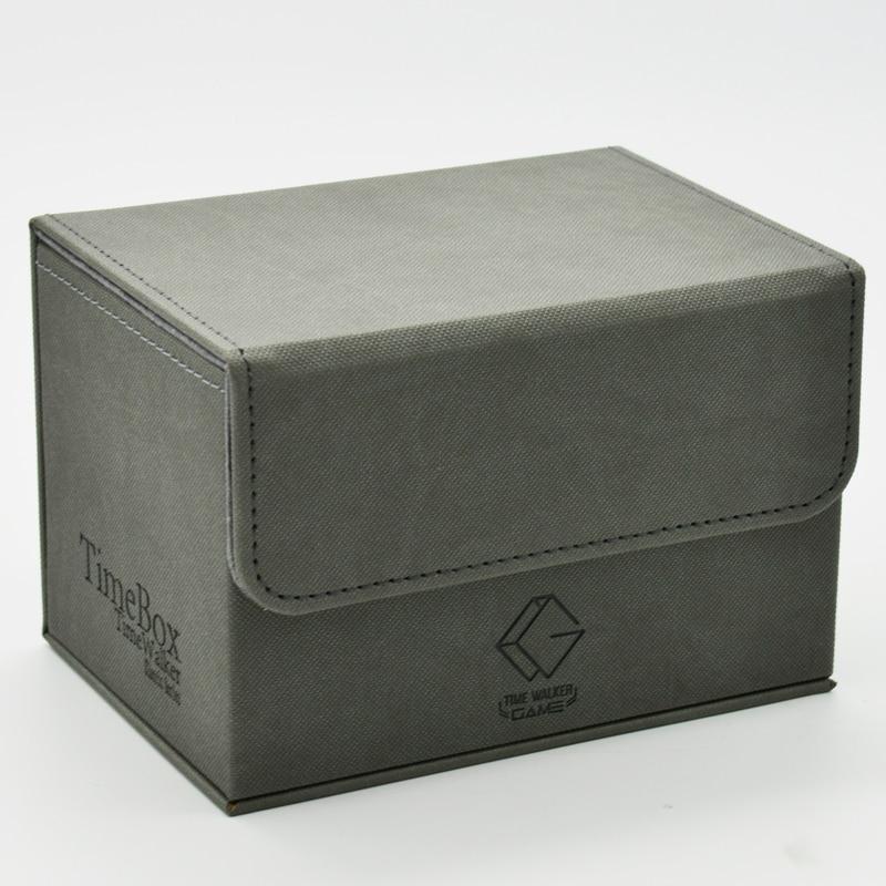 Desktop Game Deck Box Cards Storage Box for Yugioh Pokemon MTG(China)
