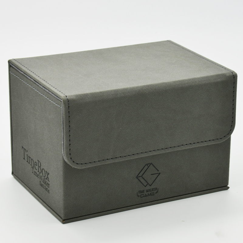 Desktop Game Deck Box Cards Storage Box for Yugioh Pokemon MTG image