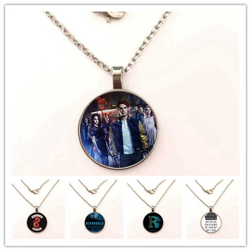 2019 Simple Riverdale Lovers Word necklace Punk Hip Hop Boys Girls Statement Pendant necklace Fashion Jewelry for Women Men