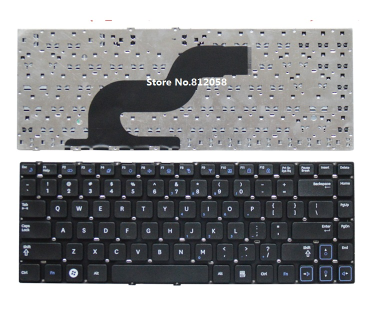 Laptop US Keyboard For SAMSUNG Q430 Q460 Q330 RF410 RF411 P330 SF410 SF411 SF310 without frame