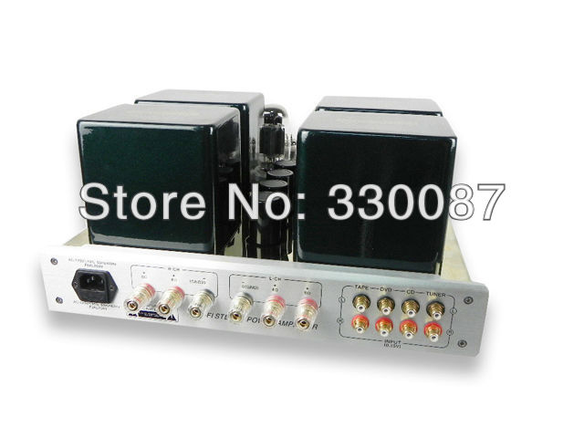 Amplifier Vaccum Integrated PushPull Stereo Class A YAQIN MC-100B KT88 Tube