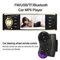 ¡ Venta caliente! Bluetooth Universal de Control Remoto en el Volante de 4.1 pulgadas TFT HD 1080 P Digital Sn Car Radio Reproductor MP5 USB/TF FM Una