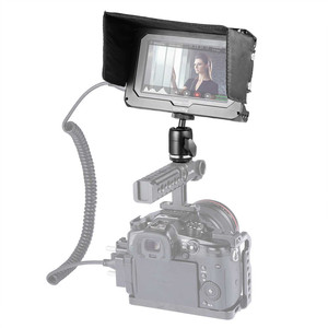 "Image 5 - SmallRig Monitor Cage Kit for Blackmagic Design Video Assist 5"" Monitor with HDMI Clamp Sunhood Ballhead Cold Shoe 1981"