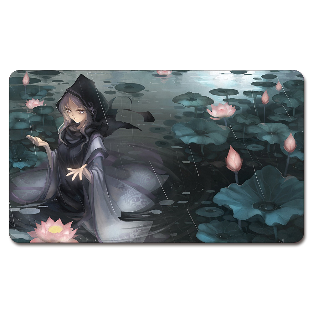 (Anime Touhou Playmat) 525 Custom Anime Board Games Sexy Play Mat Card Games Custom Big Pad with Free Storage Bag