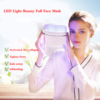 Colorful led mask Light Therapy Face Mask Photodynamic Facial Beauty Instrument Anti Acne Skin Rejuvenation Removal Beauty Spa