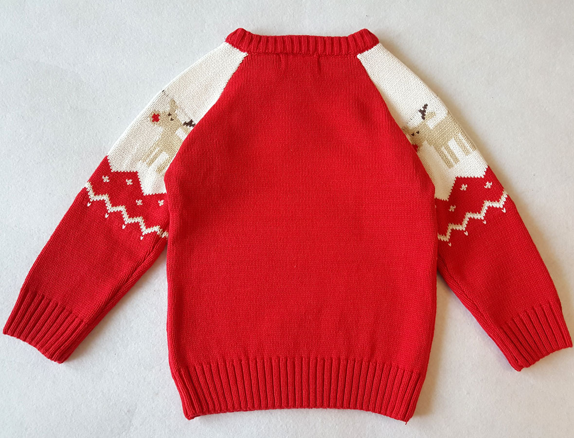 0082cb7ef337 Baby Boy Sweater Sudaderas Infant Christmas Deer Sweater Roupas ...