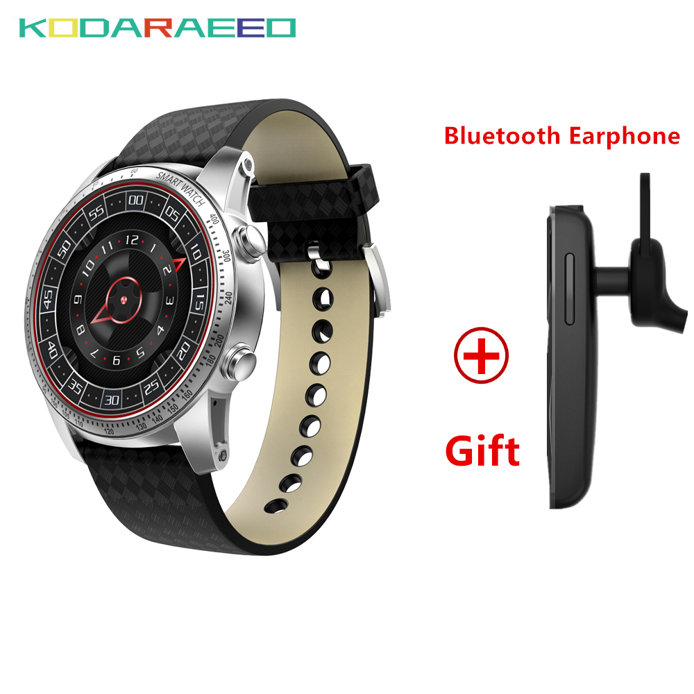 KW99 Smart Watch MTK6580 Quad Core 1.3GHZ Android 5.1 3G Smart Watch phone 400mAh 2.0 Mega Pixel Heart Rate tracker PK KW98
