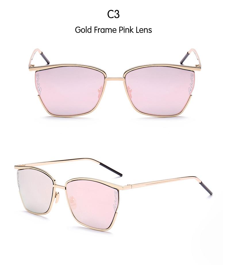 f89174c21045 DIDI cool square sunglasses women italian eyewear brands Oversized ...