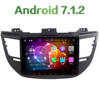 2 Din Android 7 1 2 Quad Core 10 1 2GB RAM GPS Navigation Car Radio