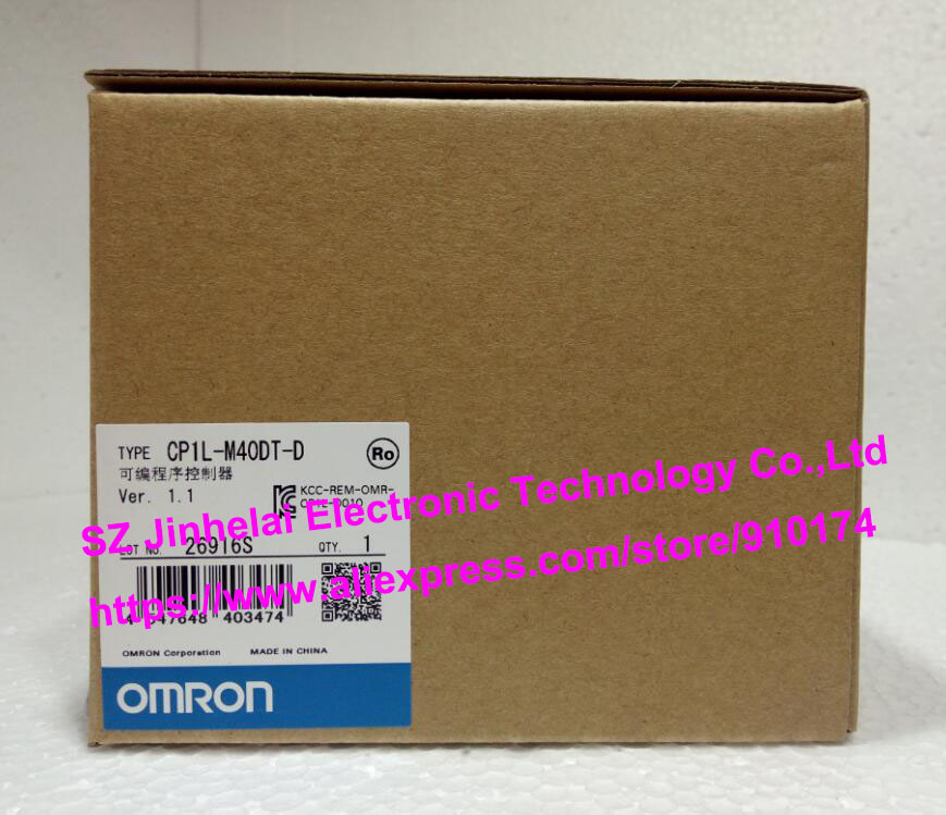 100% New and original  CP1L-M40DT-D  OMRON PLC CONTROLLER [zob] 100% new original omron omron proximity switch e2e x10d1 n 2m