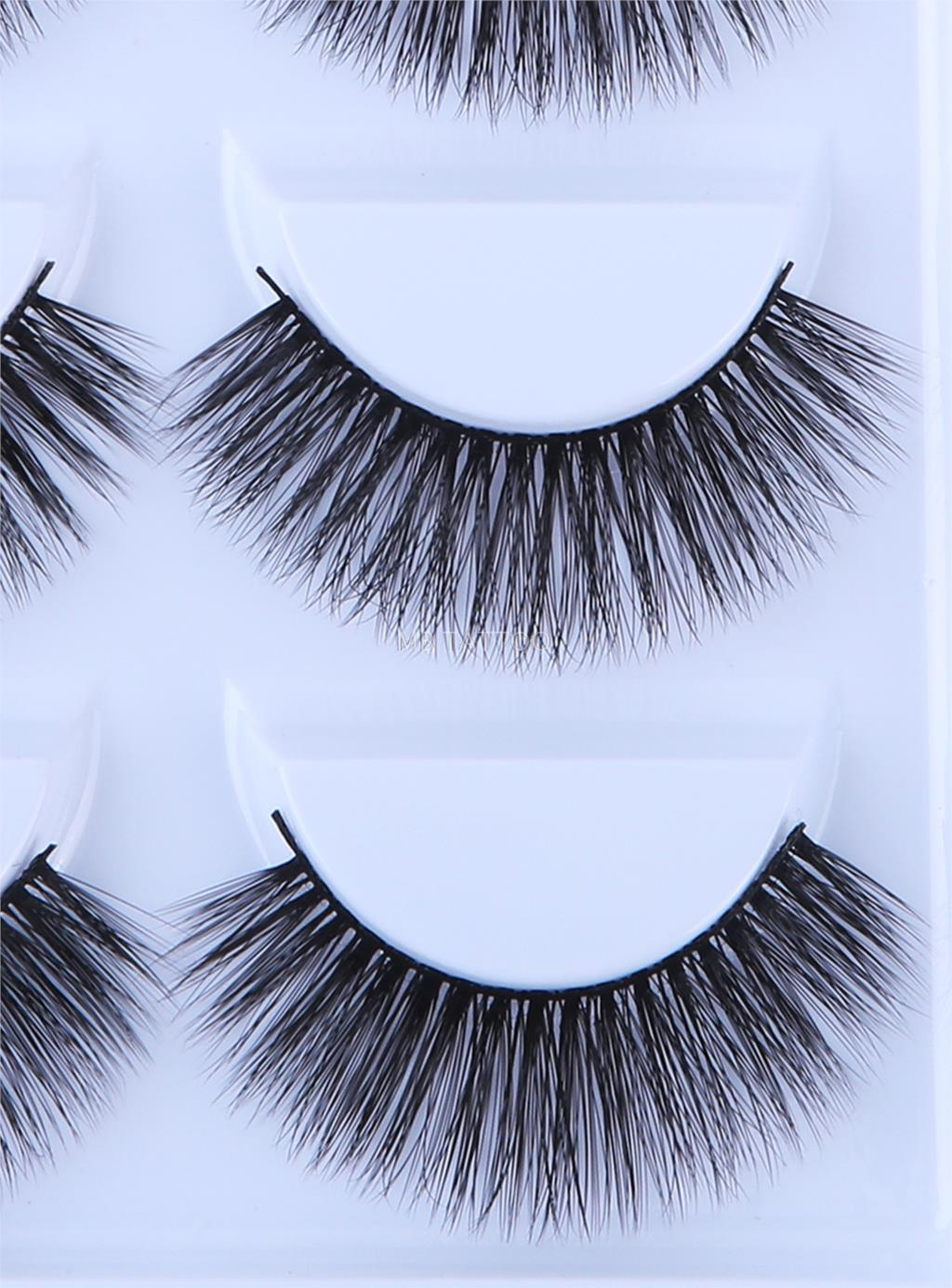 HTB10X7IQ6DpK1RjSZFrq6y78VXag New 3D 5 Pairs Mink Eyelashes extension make up natural Long false eyelashes fake eye Lashes mink Makeup wholesale Lashes