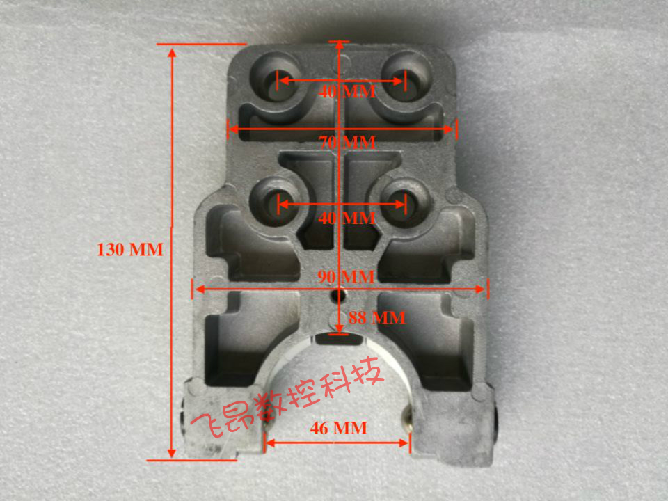 First round BT30 machining center clip arm type tool holderFirst round BT30 machining center clip arm type tool holder