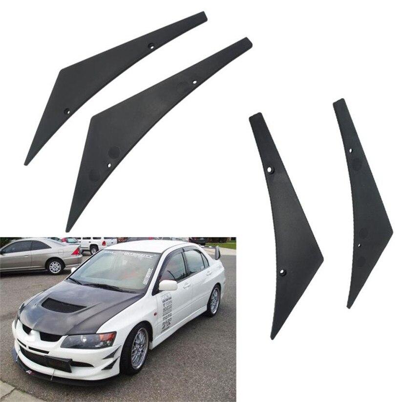 Car-styling Front Bumper Lip diffuser Splitter Fins Body Spoiler Canards Valence Chin 620