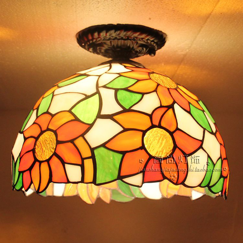 light Ceiling lamps room bedroom balcony window porch lamp lighting creative personality Simple Ceiling Lights DF103