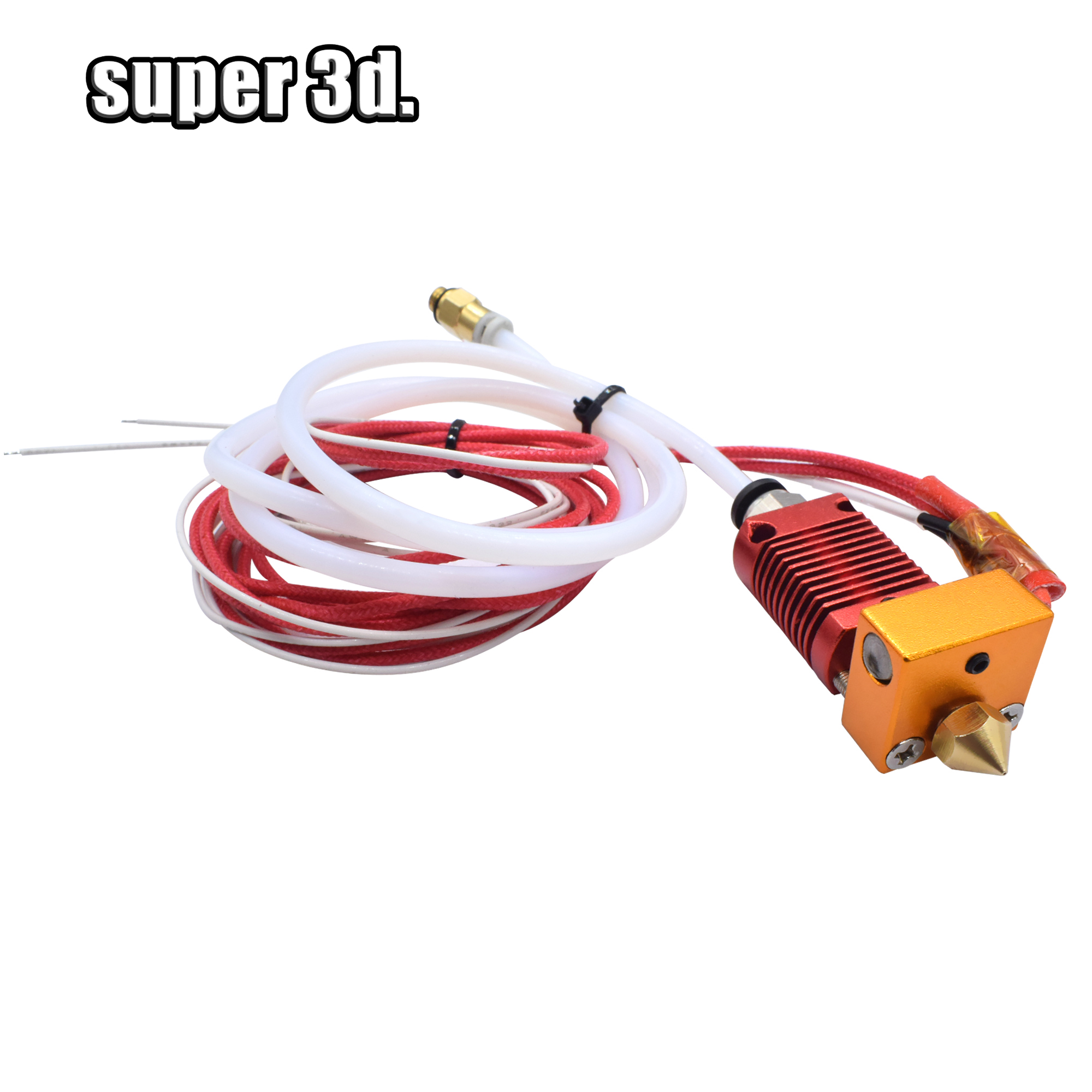 3D Full Metal J-head CR10 Hotend Extruder Hot End Kit for Creality Ender-3/5 Pro CR10/10s Bowden Extruder 2