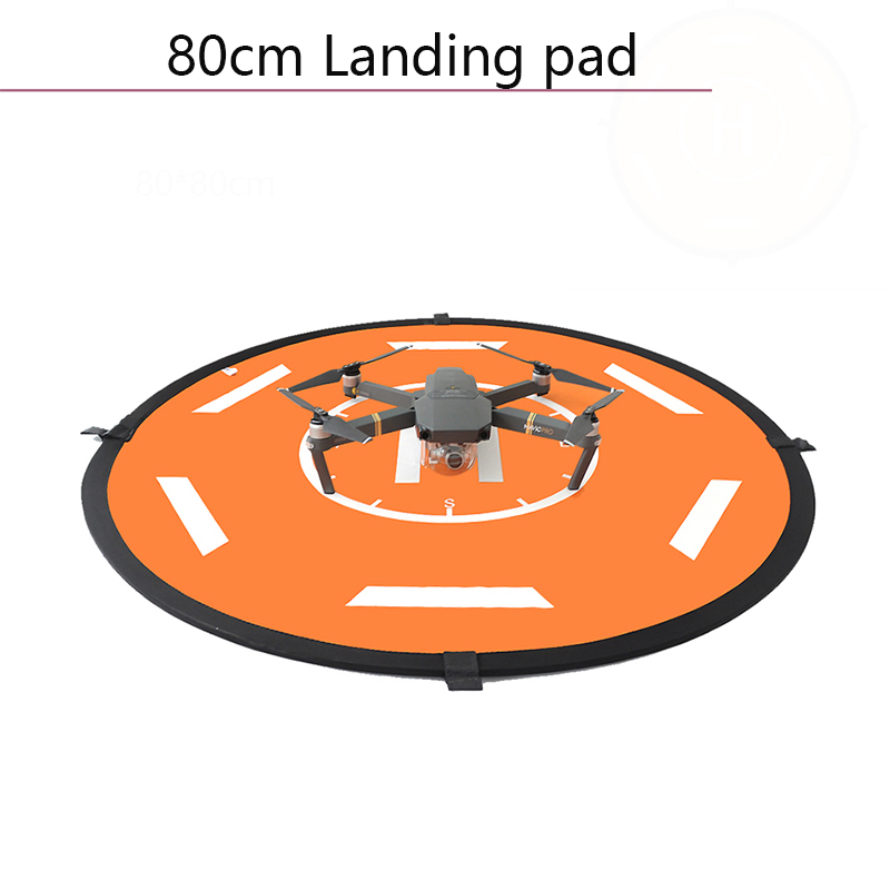 Portable 80cm Helicopter Landing Pad Parking Apron Fast Foldable for Spark Phantom 3 4 Mavic 2 Pro Zoom Air Drone Accessories