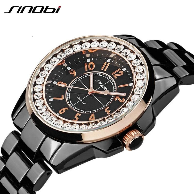 СИНОБИ модни сат луксузни челик - Женски сатови