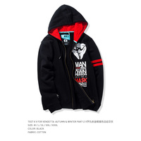2017 New Arrival TEE7 Man Fashion Sweatershirt V for Vendetta Hoodie EveyCotton Printed Blouse Male High Quality Top Size M 3XL