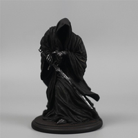 Cool Lotr The Hobbit Witch King of Angmar Action Figure Model 15cm Long Black Riders Resin Collectible Model Toy for Men Gift