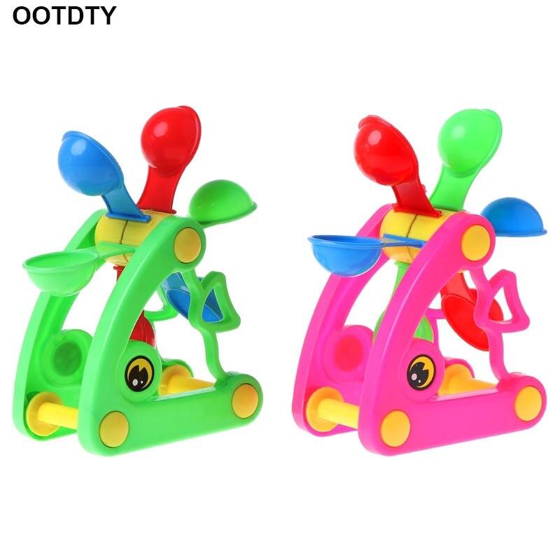 Windmill Waterwheel Toys Bath Toy Play Sand Water Toys Pool Beach Kid Baby Toy