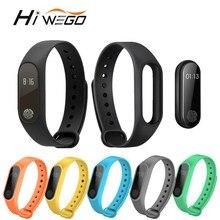 Hiwego смарт-браслет M2 Smart Браслет монитор сердечного ритма шагомер Водонепроницаемый Bluetooth для IOS Android для мужчин и женщин