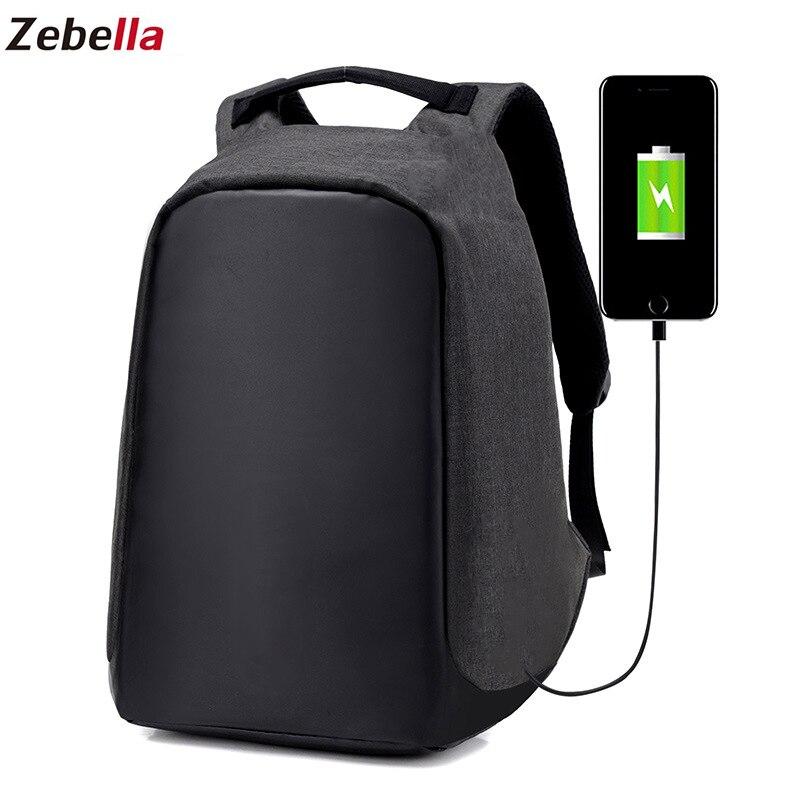 Anti Theft Backpack Women Laptop USB charging Men 15 Inch Notebook Backpacks Fashion Male Mochila Escolar Feminina Travel Bags
