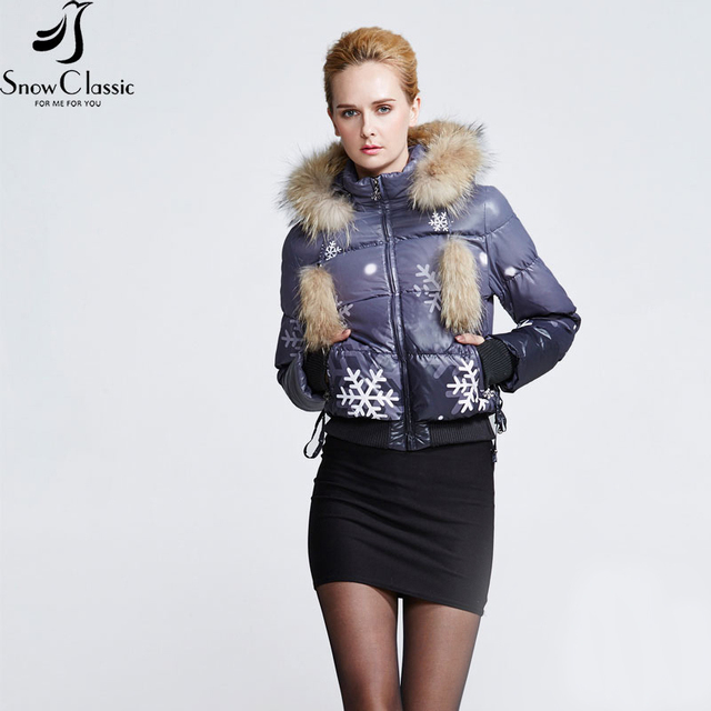 Snow Classic Clearance Women's Winter Jackets 2016 Real Raccoon ...