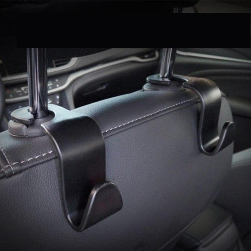 Автомобильное заднее сиденье, крючок, заднее сиденье, скрытая Автомобильная вешалка для сиденья, многофункциональная стойка для хранения украшений, ювелирные изделия, товары для салона автомобиля