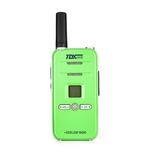 Image 4 - 100% Original TD Q7 FRS/GMRS Mini Colorful Walky Talky Q7 Scan Emergency Alarm Small Children Two Way Radio Kids Walkie Talkie