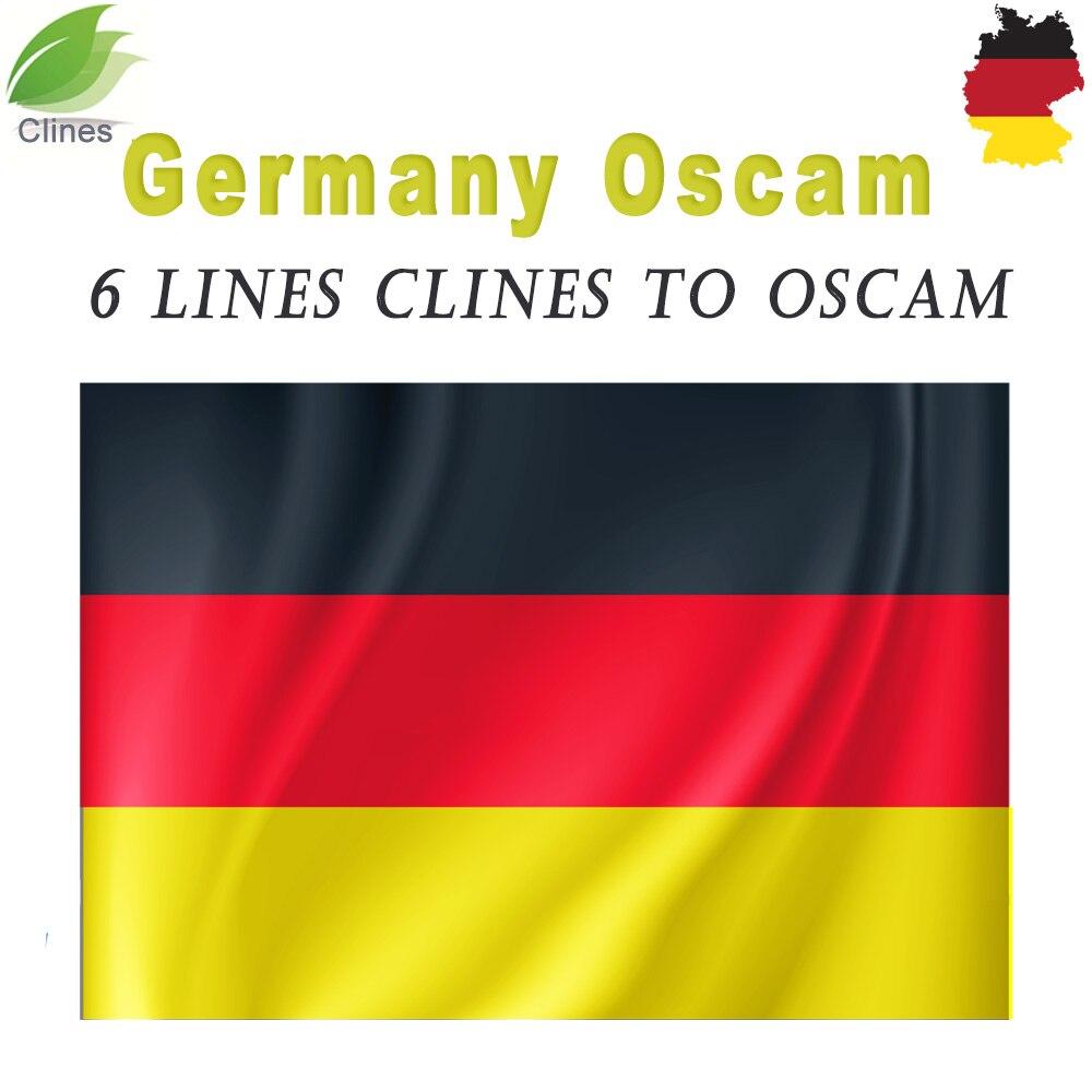 Oarnaque allemagne cline des lignes stables pour 1 an europe Clines serveur pour vu + solo duo se Satellite TV récepteur décodeur