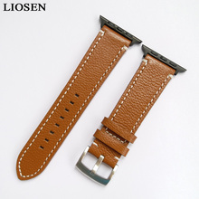 Buckle Watch Band 38mm 42mm Black Light