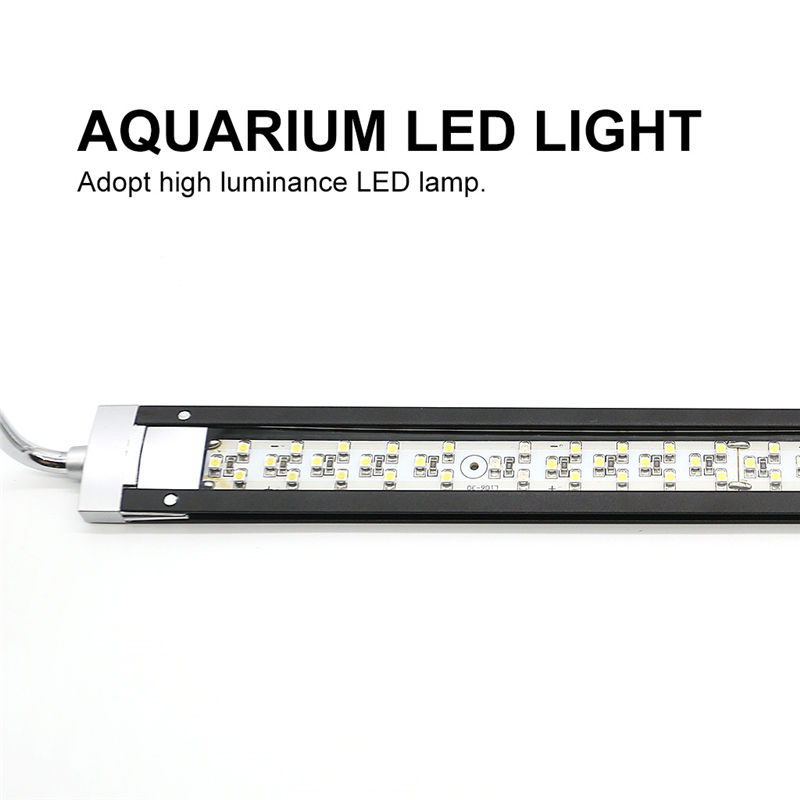 2019 Aquatic Plant Light Fish Tank LED Lighting Sterilization Lighting Lamp for Aquarium Extendable Hanging Style 360 Rotation in Lightings from Home Garden